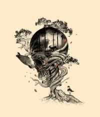Lost Translation Art Print by Nicebleed   Society6