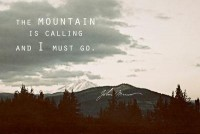 Muir: Mountain Art Print by Leah Flores | Society6