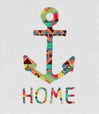 you make me home Art Print by Bianca Green | Society6