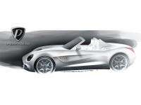 Puritalia 427 Design Sketch - Car Body Design