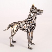 Welded Sculptures by Brian Mock   inspirationfeed.com