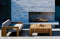 Solid Teak Wooden Outdoor patio Furniture from marmol radziner | d' Home Interior Design Page