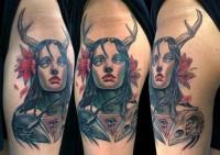 Tattoo / Crow tattoo