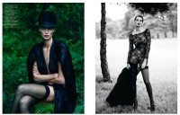 Nr. 9: Daria Werbowy by Mert and Marcus for Vogue Paris September 2012