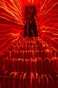 Artist's dramatic play with neon | Photo Gallery - Yahoo! News
