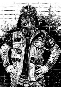 Dalai Karma | Rebel Vader illustration by uknown artist.