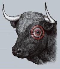 Bullseye Art Print by Alvaro Arteaga | Society6