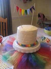 Ramblings from the Sunshine State: Morgan's Rainbow Party!