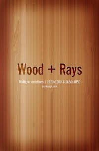 Wood + Rays by ~yc