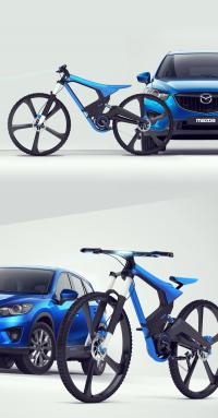 X-bike MAZDA contest