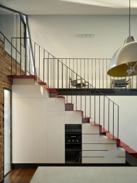 Gallery: Interior Stairs Space With Metal Railings - Architecture Design Directory | Architecture Buildings