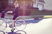 The bike by Kenzie Faith | Fashion Click | teenvogue.com