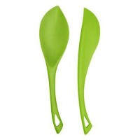 Flora - Pure Silicone Spoon and Spatula Set - The Green Head