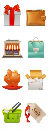 Free eCommerce Icon Pack 1