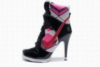 nike dunk sb high heels black and pink for cheap
