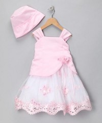 Pink Sequined Dress & Hat - Infant | Daily deals for moms, babies and kids