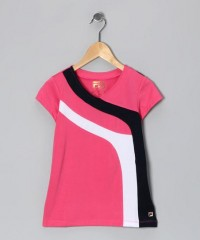 Watermelon Stripe V-Neck Top - Girls | Daily deals for moms, babies and kids