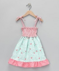 Pink & Blue Butterfly Dana Dress - Infant, Toddler & Girls | Daily deals for moms, babies and kids