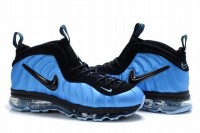 air foamposite max 2009 blue/black shoes for men