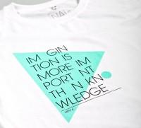 IMAGINATION - white shirt | NATRI - Shirt Label - Shop