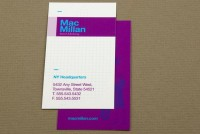 Marketing Firm Business Card Template Sample | Inkd