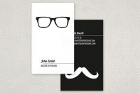 Disguise Business Card Template Sample | Inkd