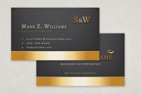 Executive Business Card Template Sample | Inkd