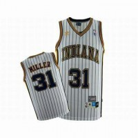 nba indiana pacers miller 31 white jersey original p15603