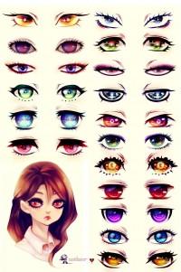 """Eyes"" by UnkaiTenshi - What an ART"