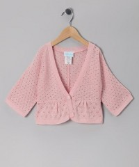 Barrel Sportswear Pink Pin Dot Cardigan - Girls | Daily deals for moms, babies and kids