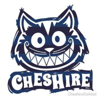 """Cheshire Originals - Blueberry Stripe Scribble Sticker"" Stickers by CheshireGoMad 