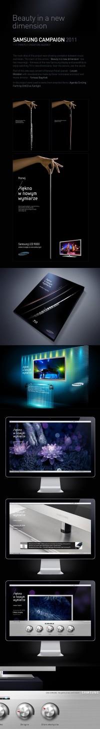 Samsung - Beauté dans une nouvelle dimension sur le réseau