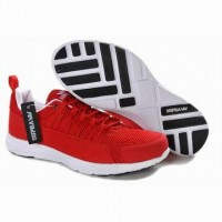 Justin Bieber supra owen tour red white men shoes