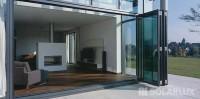 Solarlux - Udestuer Vinterhaver Havestuer - glas foldedøre, foldevægge, skydedøre - tagterrasse, balkonvinduer – Producent