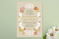 Floral Frame Wedding Invitations by Alethea and Ru... | Minted