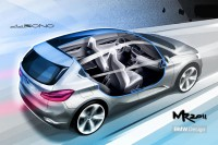 BMW Concept Active Tourer - Design Sketch - Car Body Design