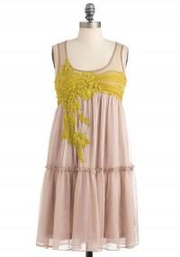 Ryu Everything Will Be Applique Dress | Mod Retro Vintage Dresses | ModCloth.com
