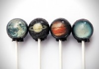 Galactic Planet Lollipops | Fancy Crave