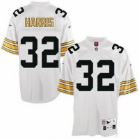 buy nfl pittsburgh steelers franco harris jersey 32 white jersey p16959