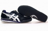 best asics ultimate 81 black white purple running shoes