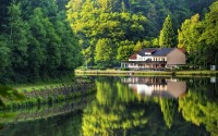landscapes,water water landscapes house reflections 2560x1600 wallpaper – landscapes,water water landscapes house reflections 2560x1600 wallpaper – Houses Wallpaper – Desktop Wallpaper