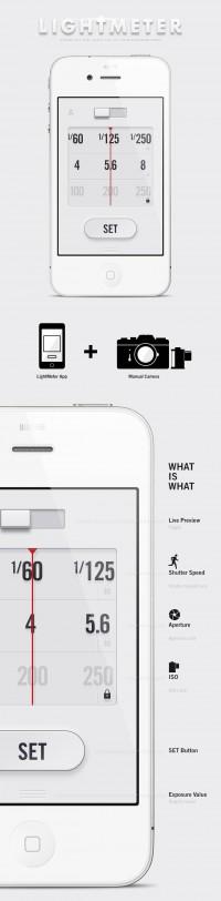 LightMeter App - Anton Repponen