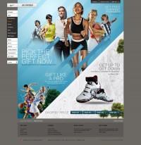 Nike par le design d'interaction jan918_ la conception de pages _ le canal _ les travaux de conception originale - Powered By Cool Station (ZCOOL)