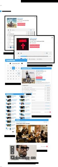 Interaction Design / Universal Music Group Allemagne sur le réseau