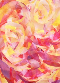 Concentric (Rise Remix) Art Print by Jacqueline Maldonado | Society6