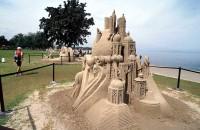 10 Amazing Sand Sculptures