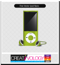 Free Vector Ipod Nano | creativology.pk