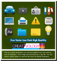 Free Vector Icon Pack High Quaility | creativology.pk