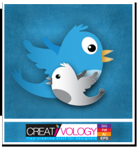 Free Vector Twitter Bird | creativology.pk