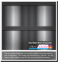 Free Vector Metal Background | creativology.pk